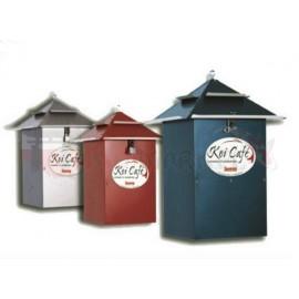 Karmnik automatyczny KOI Cafe - 3 kolory - ocynkowany