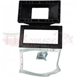 Skimmer brzegowy-PVC-czarny
